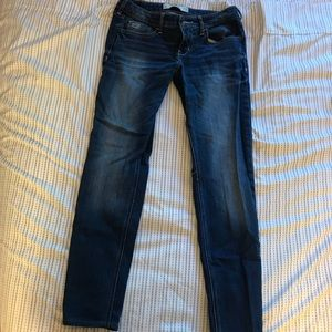 Hollister medium-washed straight leg jeans